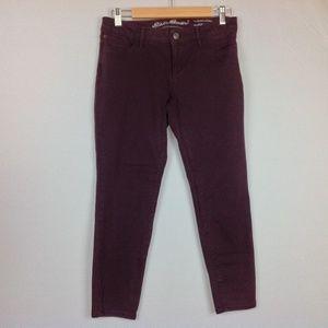 Eddie Bauer Jeans Womens 4P Petite Skinny Ankle